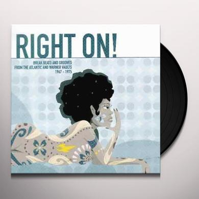 VOL. 1-RIGHT ON! (UK) (Vinyl)