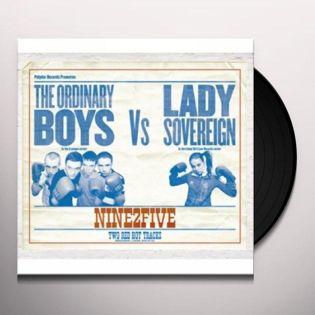 Ordinary Boys Vs Lady Sovereign 9 TO 5 PT. 2 Vinyl Record