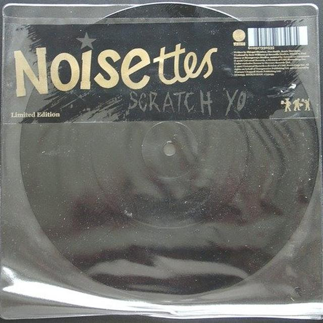 Noisettes SCRATCH YOUR NAME Vinyl Record