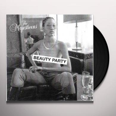 The Majesticons BEAUTY PARTY Vinyl Record - UK Release