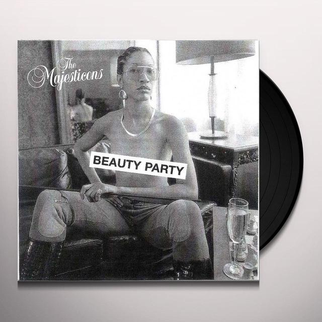 The Majesticons BEAUTY PARTY Vinyl Record - UK Import