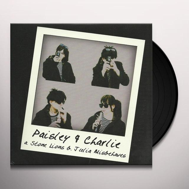 Paisley & Charlie STONE LIONS Vinyl Record - UK Import