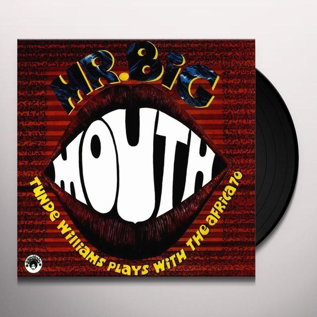 Tunde Williams MR BIG MOUTH Vinyl Record - Holland Import