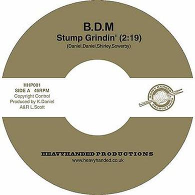 Big Daddy Moochin STUMP GRINDIN' Vinyl Record