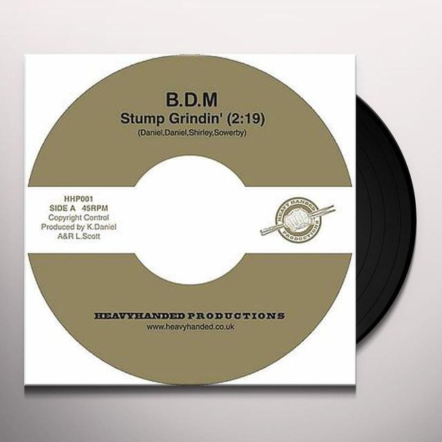 Big Daddy Moochin STUMP GRINDIN' Vinyl Record