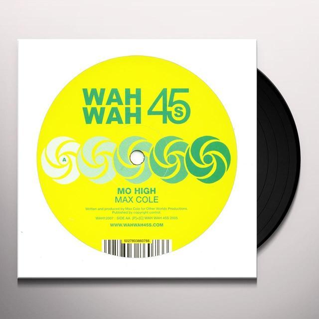 Max Cole MO HIGH Vinyl Record - Australia Import