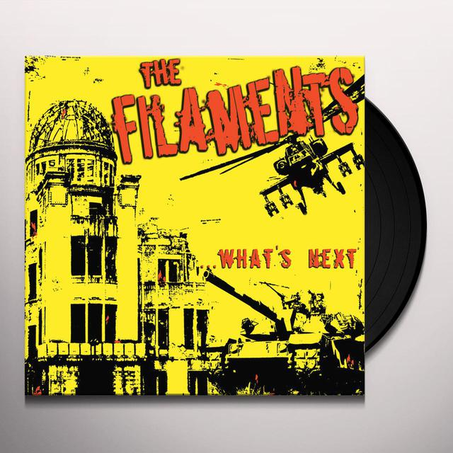 Filaments WHATS NEXT Vinyl Record