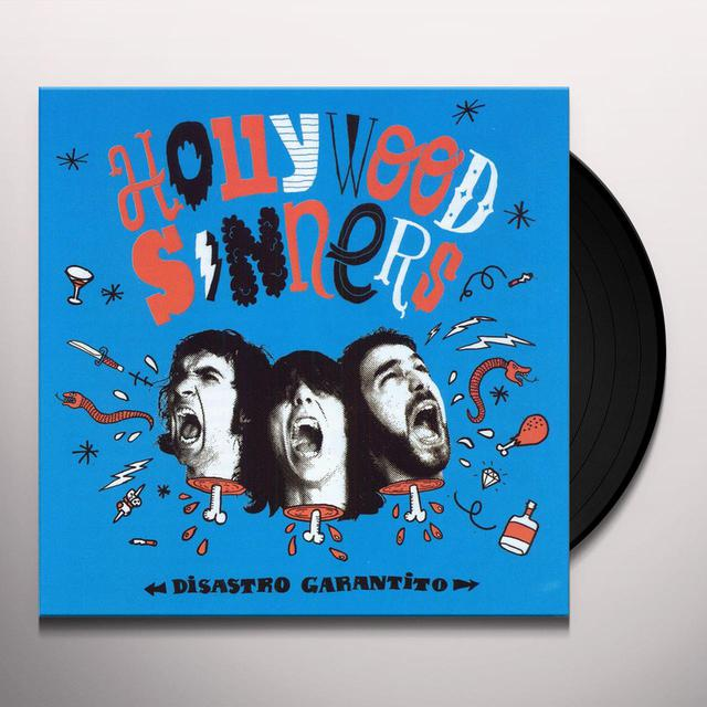 Hollywood Sinners DISASTRO GARANTITO Vinyl Record