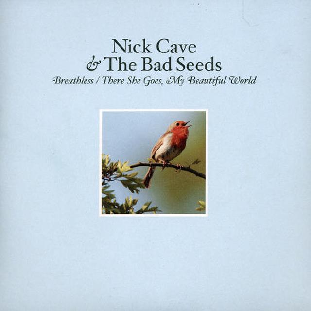 Nick Cave & The Bad Seeds BREATHLESS/MY BEAUTIFUL WORLD Vinyl Record - UK Import