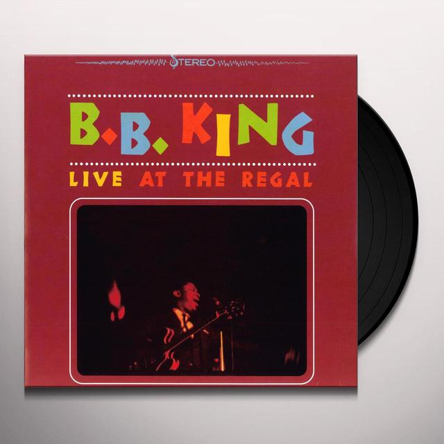 B.B. King LIVE AT THE REGAL Vinyl Record - UK Import