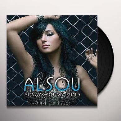 Alsou ALWAYS ON MY MIND Vinyl Record - UK Import