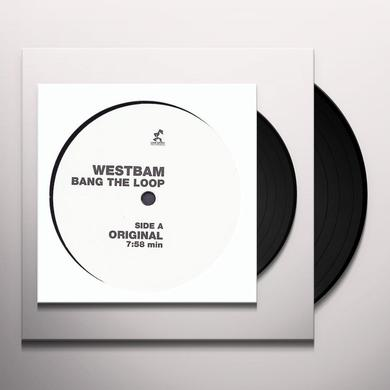 Westbam BANG THE LOOP Vinyl Record