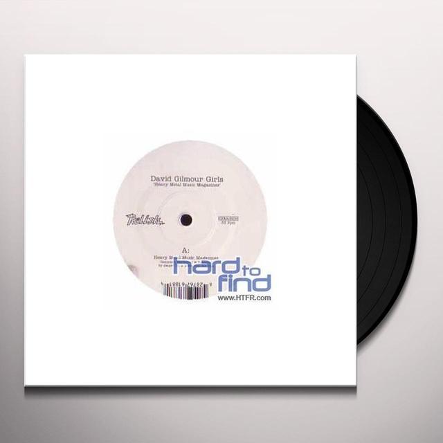 David Gilmour Girls HEAVY METAL MUSIC MAGAZINE (GER) Vinyl Record