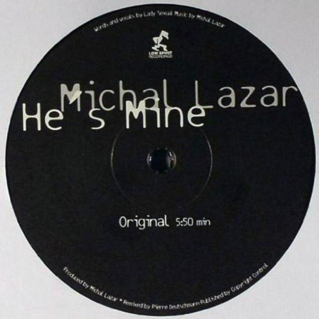 Michal Lazar HE'S MINE Vinyl Record