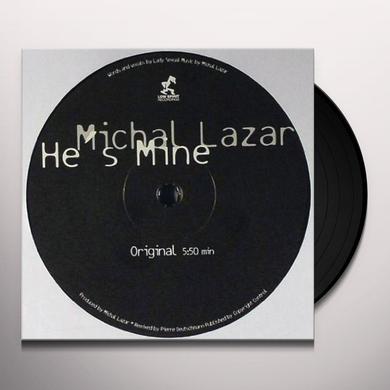 Michal Lazar HE'S MINE (GER) Vinyl Record