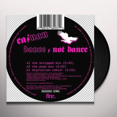 Cajuan DANCE/NOT DANCE Vinyl Record