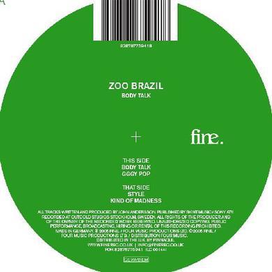 Zoo Brazil BODY TALK EP Vinyl Record