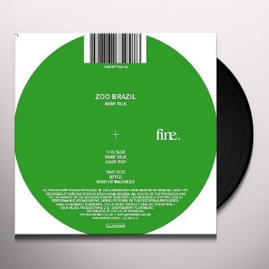 Zoo Brazil BODY TALK EP (GER) Vinyl Record
