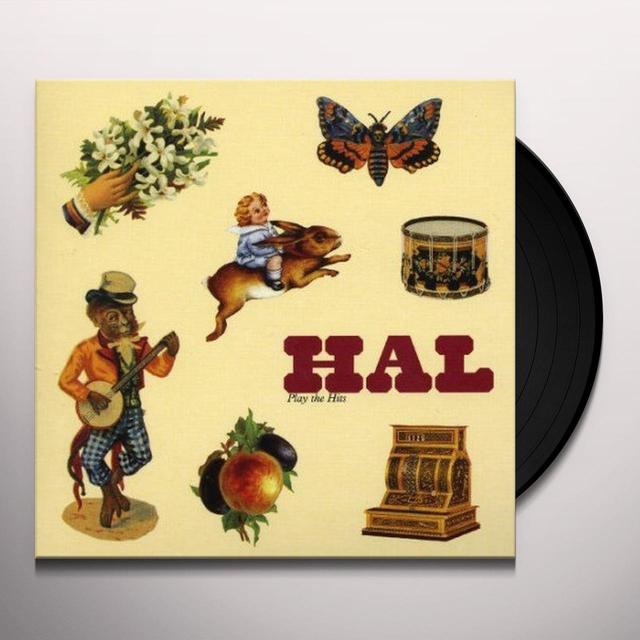 HAL PLAY THE HITS Vinyl Record - UK Import