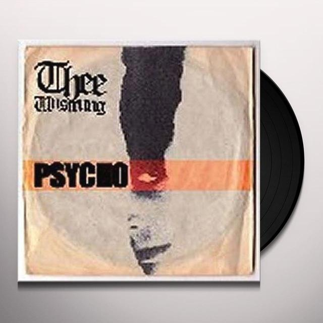 Thee Unstrung PSYCHO Vinyl Record - UK Import