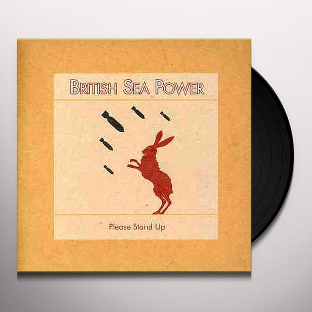 British Sea Power PLEASE STAND UP Vinyl Record - UK Import