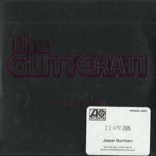 The Glitterati HEARTBREAKER Vinyl Record - UK Release