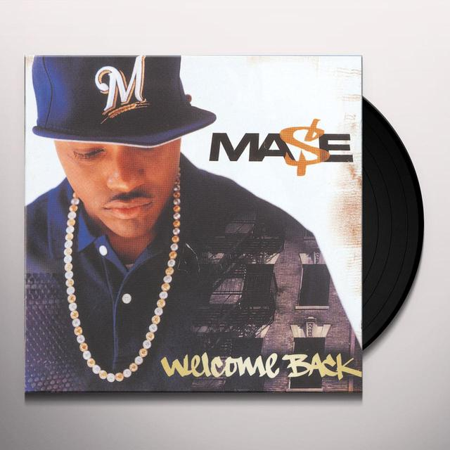 Mase WELCOME BACK Vinyl Record