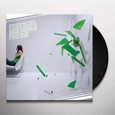 Protocol SHE WAITS FOR ME Vinyl Record - UK Import