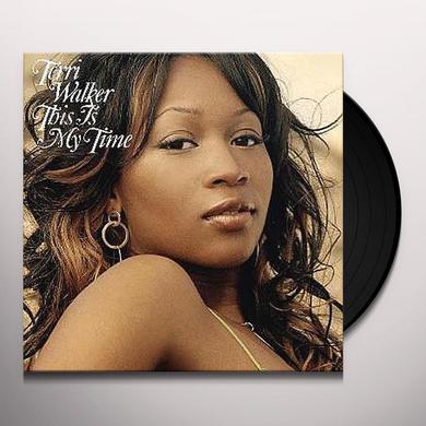 Terri Walker THIS IS MY TIME Vinyl Record - UK Import