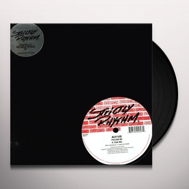 Aly Us FOLLOW ME Vinyl Record - UK Import
