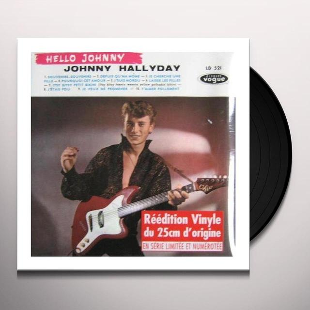 Johnny Hallyday HELLO JOHNNY (GER) Vinyl Record
