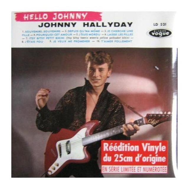 Johnny Hallyday HELLO JOHNNY (GER) Vinyl Record