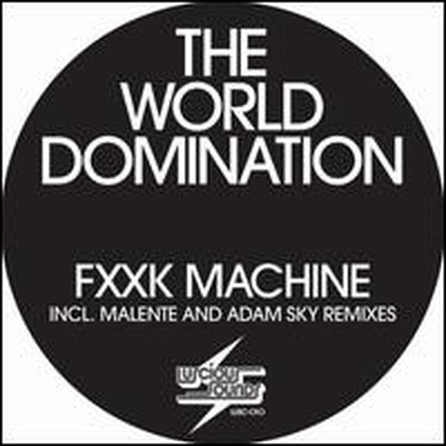 World Domination F--K MACHINE (GER) Vinyl Record