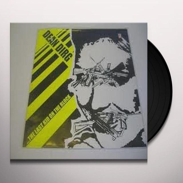Dean Dirg LAST KID ON THE BLOCK Vinyl Record - Holland Release
