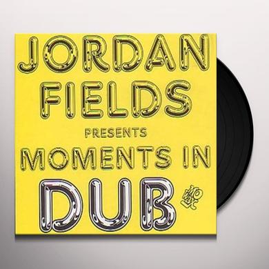 Jordan Fields MOMENTS IN DUB Vinyl Record - Canada Import