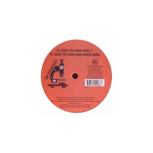 Separatists SHAKE YOU DOWN (PERCY X PRESENTS (FRA) Vinyl Record