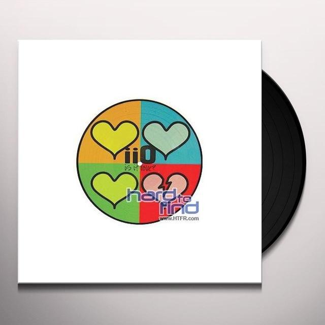 Iio IS IT LOVE (FRA) Vinyl Record