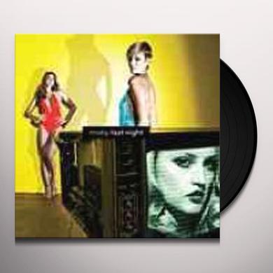 Moby LAST NIGHT Vinyl Record