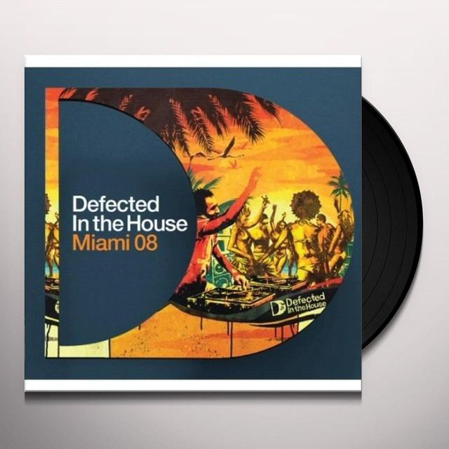 Defected In The House: Miami 2008 Pt1 / Var (Uk) DEFECTED IN THE HOUSE: MIAMI 2008 PT1 / VAR Vinyl Record - UK Release