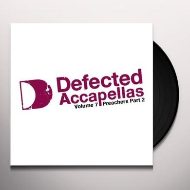 VOL. 7-DEFECTED ACCAPELLAS PT. 2 Vinyl Record - UK Import
