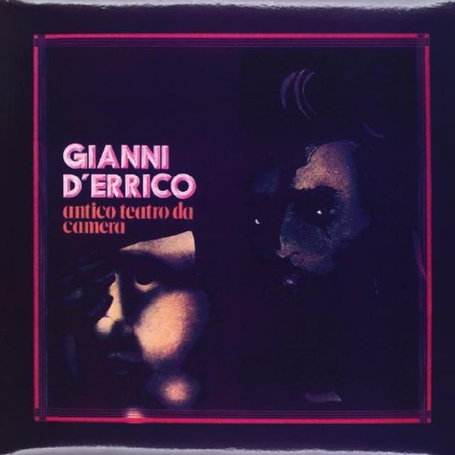 D'Errico Gianni ANTICO TEATRO DA CAMERA Vinyl Record - Italy Release