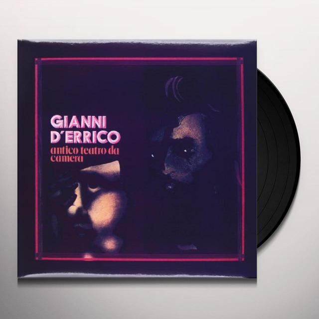 D'Errico Gianni ANTICO TEATRO DA CAMERA Vinyl Record - Italy Import