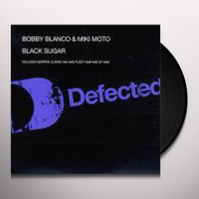 Blanco / Moto BLACK SUGAR Vinyl Record - UK Import