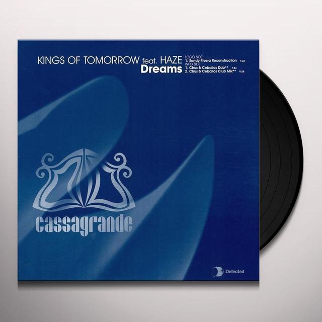 Kings Of Tomorrow DREAMS Vinyl Record - UK Import