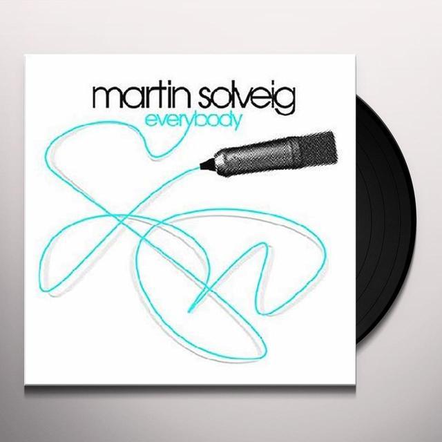 Martin Solveig EVERYBODY Vinyl Record - UK Release