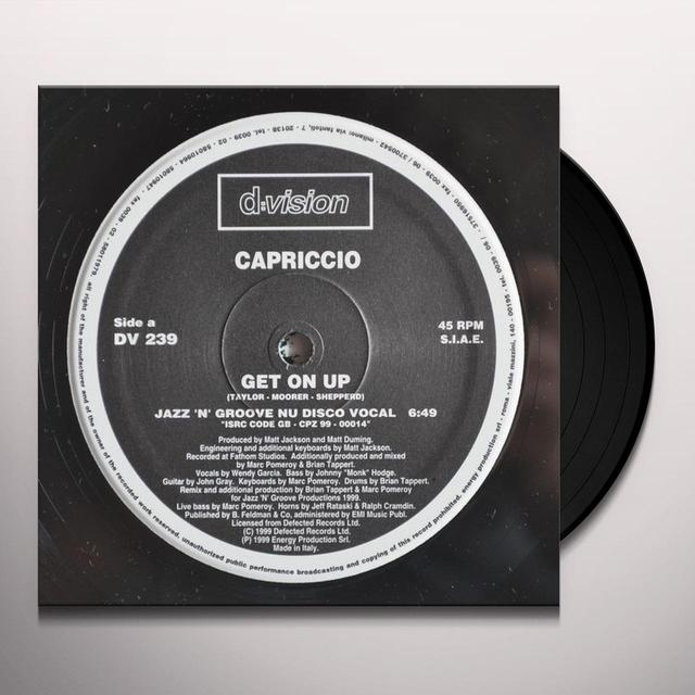 Capriccio GET ON UP Vinyl Record
