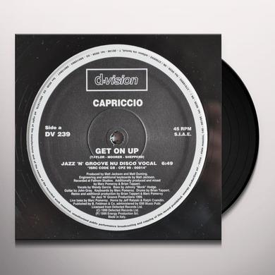 Capriccio GET ON UP Vinyl Record