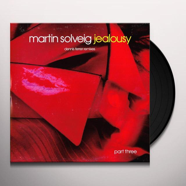 Martin Solveig JEALOUSY Vinyl Record - UK Import