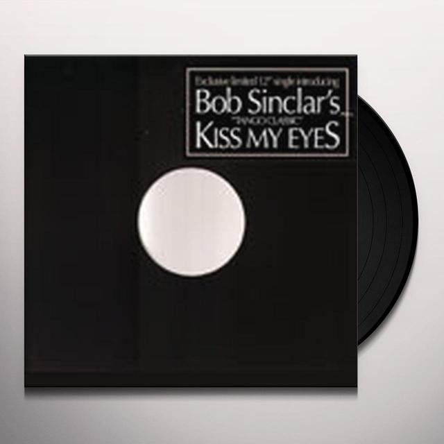 Bob Sinclar KISS MY EYES Vinyl Record - UK Release