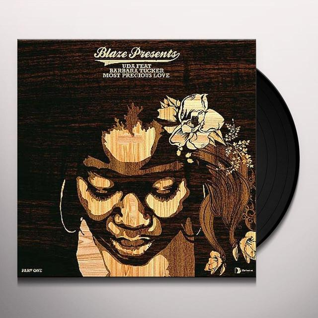 Blaze Pres Uda MOST PRECIOUS LOVE Vinyl Record - UK Import